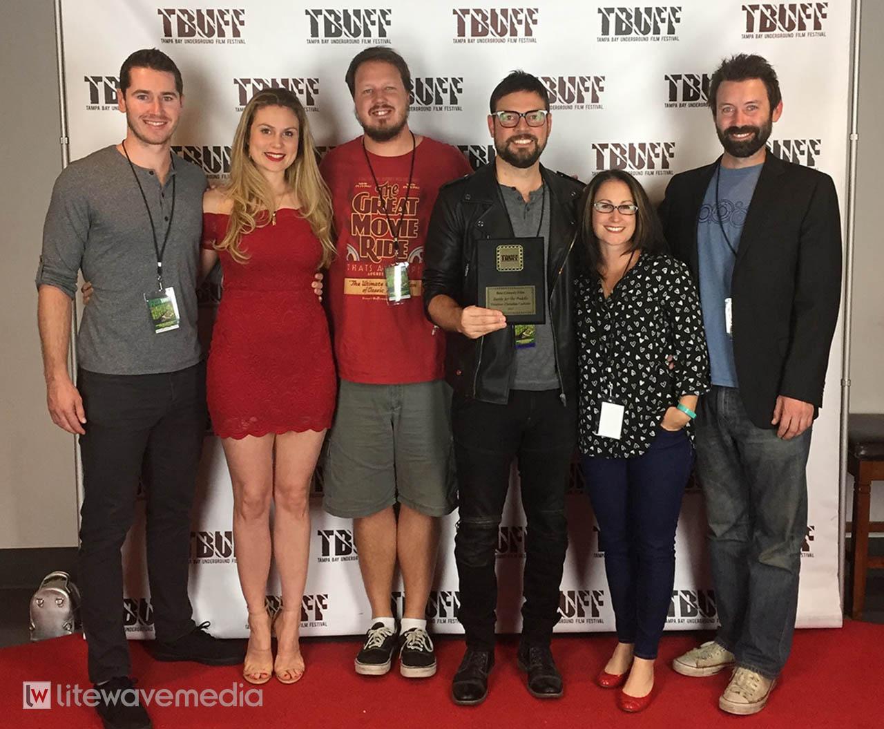 Tampa Film Company wins Best Comedy Film at film festival.