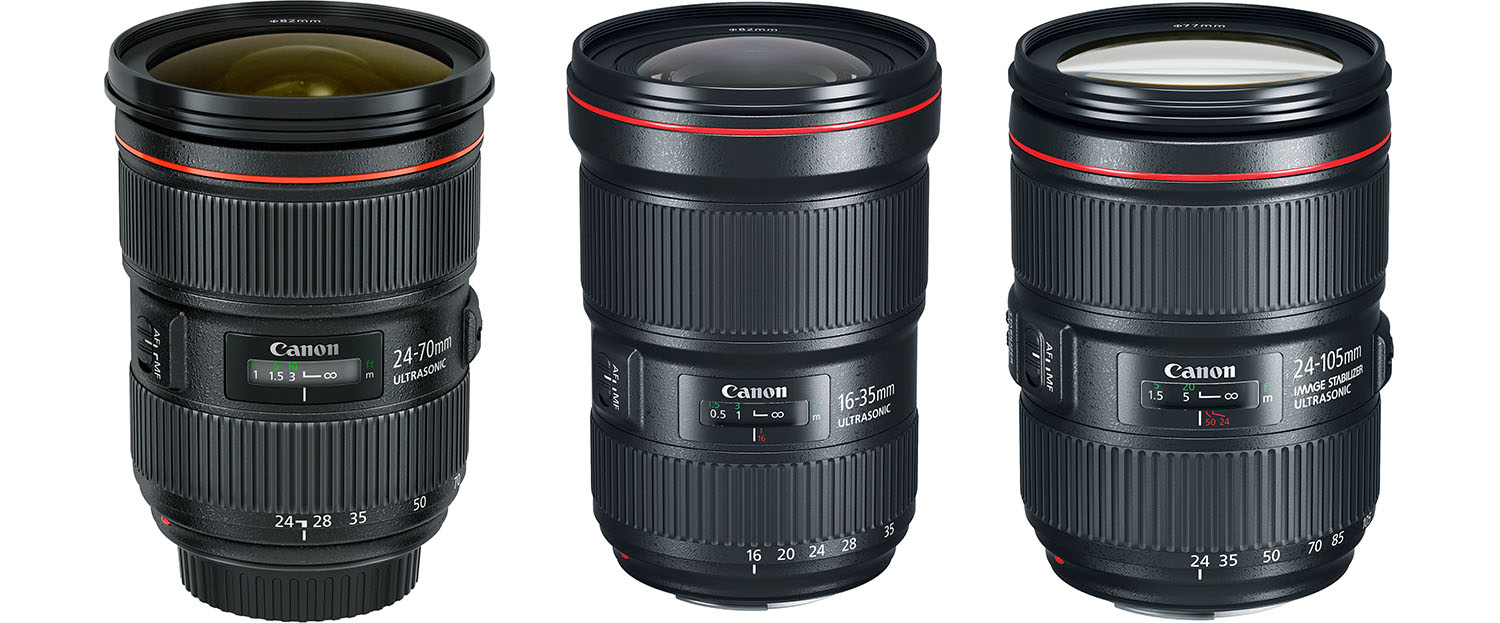 Canon L Zoom Lenses Rental Tampa